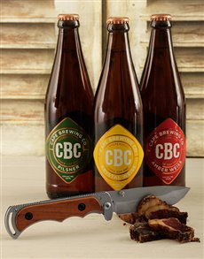 Picture of CBC Craft Beer with Biltong Knife!