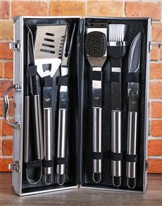 gifts: You are The Man Stainless Steel Braai Set!