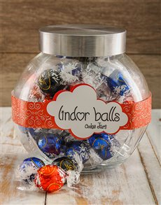 gifts: Death by Lindt Candy Jar!