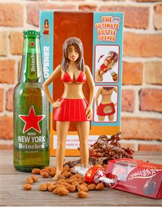 Gifts and Hampers - All Gifts: Beach Babe Bottle Opener!