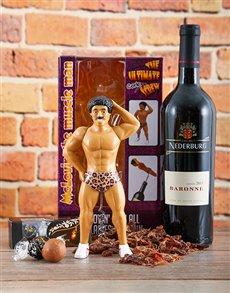 gifts: Muscle Man Corkscrew Kit!