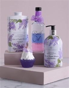 gifts: Lavender Love Bath and Body Hamper!