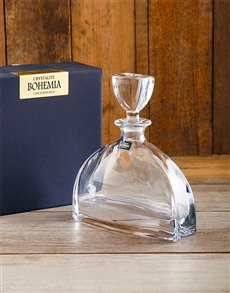 gifts: Bohemia Crystal Decanter!