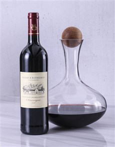 gifts: Sagaform Decanter with Rupert and Rothschild!