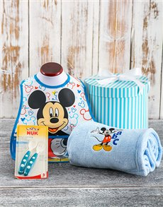 for Baby - Hampers and Gifts: Dinner Time Mickey Hamper!