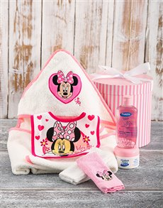 gifts: Minnie Mouse Bath Time Hamper!