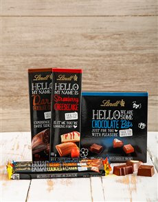 gifts: Hello You Lindt Chocolate Hamper !