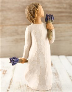 gifts: Willow Tree Lavender Grace!