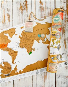 gifts: World Map Scratcher!