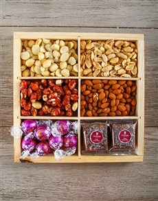 gifts: Nutty Munchies Snack Crate!