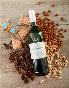 gifts: KWV Sauvignon Blanc Snack Pairing!