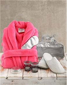 gifts: Spa Therapy with Pink Gown!