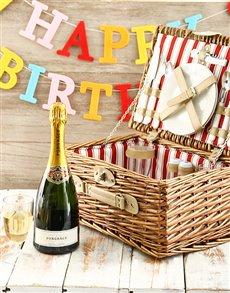 gifts: Happy Birthday Picnic Basket!