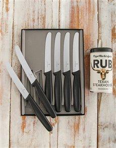 gifts: Victorinox Steak Knife Set!