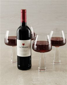 gifts: Carrol Boyes Red Wine Glasses!