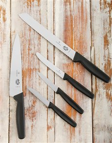 gifts: Victorinox Kitchen Set 5 piece!