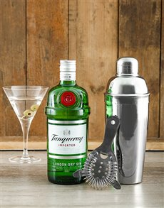 gifts: Tanqueray Martini Cocktail Kit!