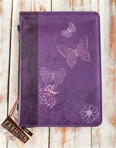gifts: Butterfly Bible Protector!