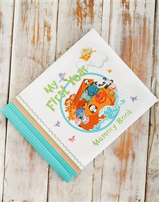 Gifts and Hampers - All Gifts: Baby Memory Book!