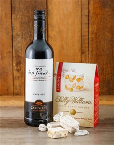 gifts: Sweet and Red Wine Gift!