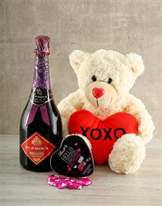 gifts: Sparkling Chocolate Teddy Gift!