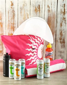 Gifts and Hampers - All Gifts: Beach Babe Set!