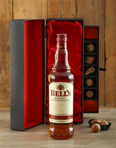 gifts: Bells Whisky and Chocolate Gift!