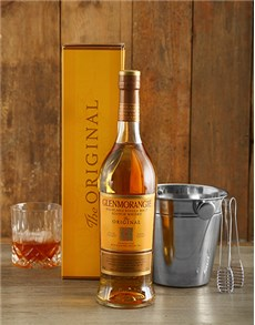 gifts: Glenmorgie Whisky and Ice Bucket Gift!