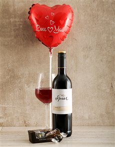 gifts: Red Romance Wine Gift!