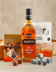 gifts: Bains Whisky Crate!