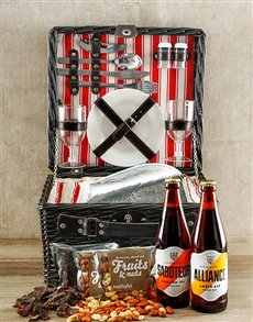 gifts: Nutty Ale Picnic Basket!