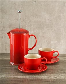 gifts: Le Creuset Coffee Set!