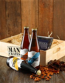 gifts: Brew Masters Man Crate!