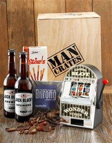 gifts: Winner Winner Chicken Dinner Man Crate!
