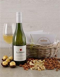 gifts: Luxurious La Motte Blanc Basket!