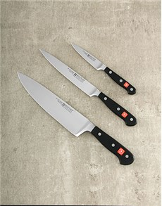 gifts: Gourmet 3pc Knife Set!