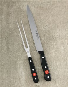 gifts: Gourmet 2pc Carving Set!