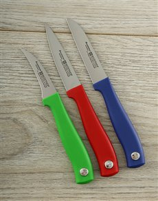 gifts: Multi color Pairing Knife Set!