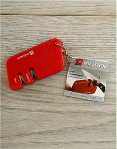 gifts: Red Knife Sharpener!