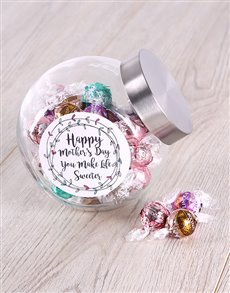 gifts: Mothers Day Lindt Balls Candy Jar!