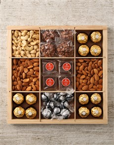 gifts: Dark Chocolate Nut Tray!