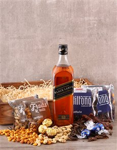 gifts: Whisky Snack Crate!