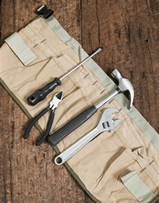 gifts: Canvas Tool Belt!