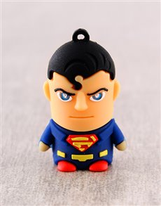 gifts: Superman 8G USB Flashdrive!