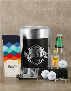 gifts: Golf Pro Bro Bucket!