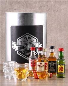 gifts: Hip Flask Bro Bucket!