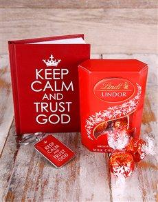 gifts: Keep Calm & Trust God Hamper !