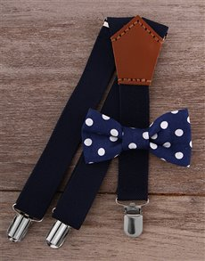 gifts: Baby Bow Tie & Suspender Combo!