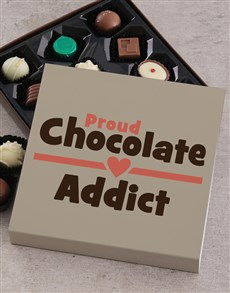 gifts: Proud Chocolate Addict Tray!