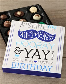 gifts: Birthday Wishes Chocolate Box!